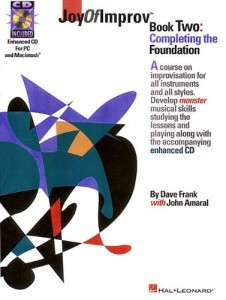 Joy of Improv, Book 2 by Dave Frank
