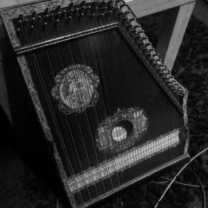 Zither used on 'The Walk'.